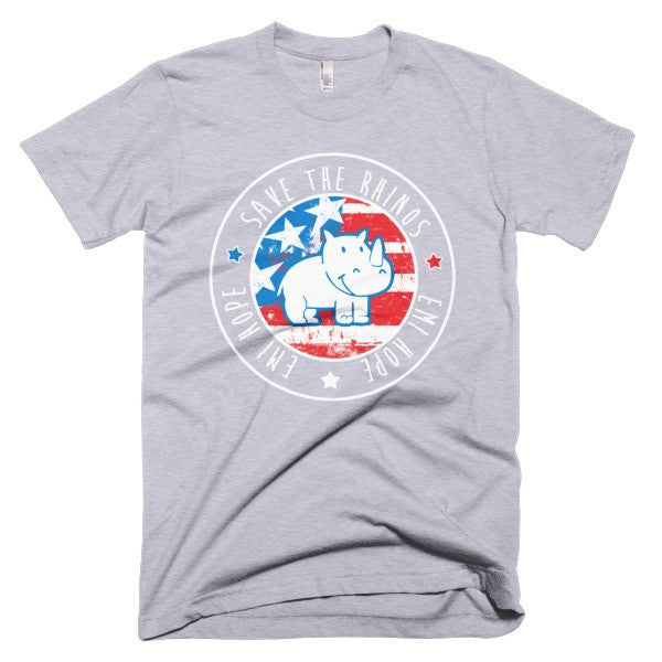 Red White and Blue Emi Short sleeve t-shirt