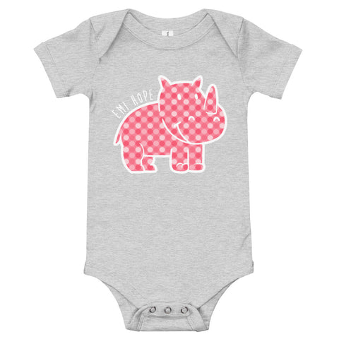 Polka Dot Infant Short Sleeve Onesie