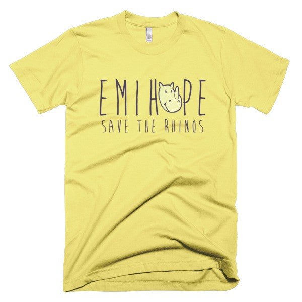 Blue Print Yellow Emi Short sleeve t-shirt