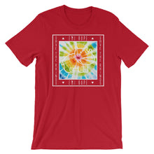 Load image into Gallery viewer, Tie Dye Save The Rhinos White Short Sleeve T-Shirt