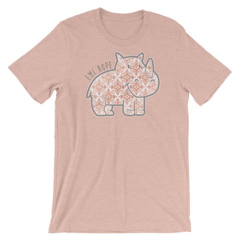 Rose Gold Emi Short Sleeve T-Shirt