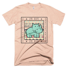 Load image into Gallery viewer, Mint Aztec Emi Save the Rhinos Short sleeve t-shirt