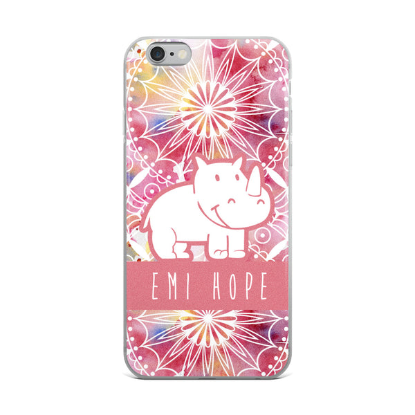 Pink Mandala iPhone Case