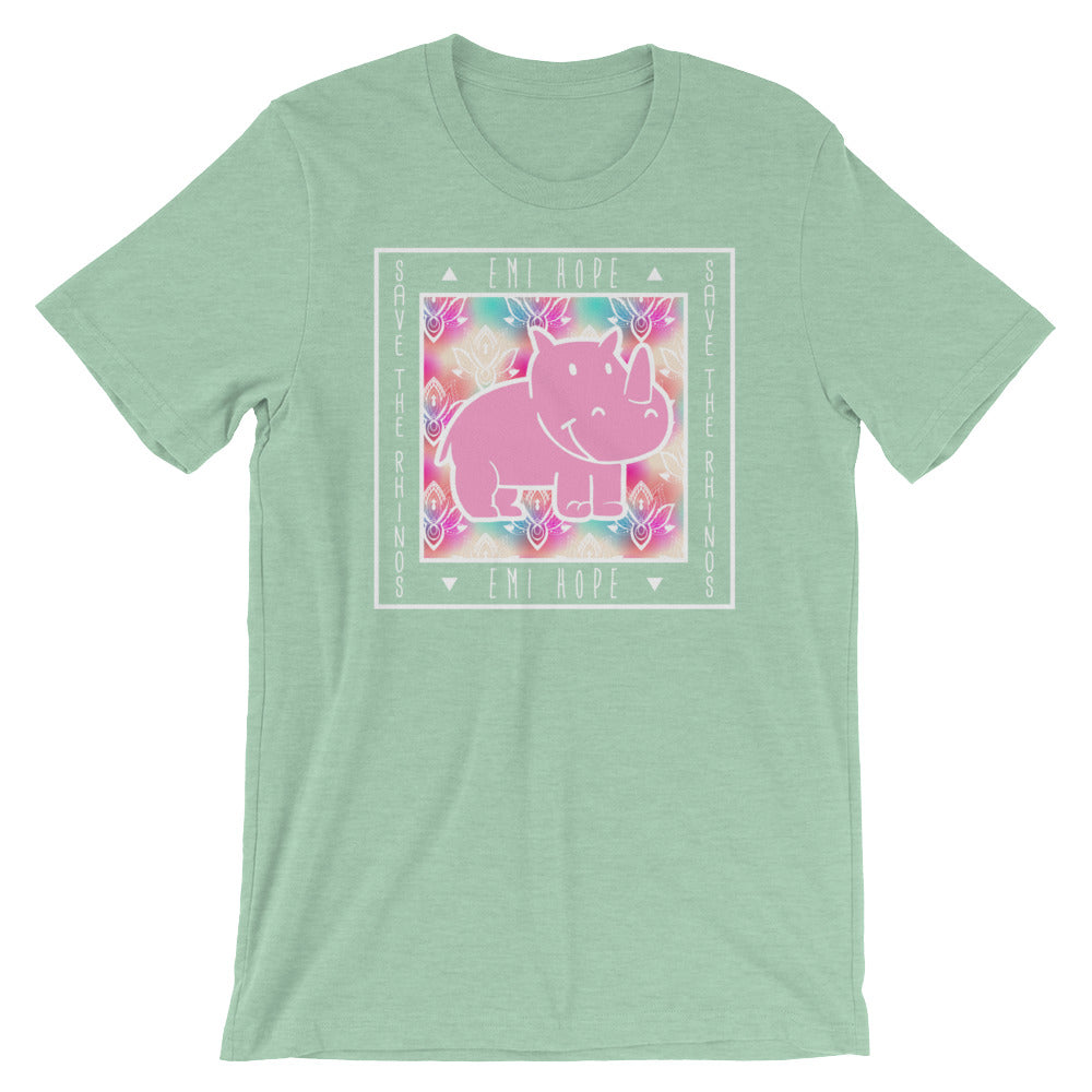 Tie Dye Flowers Short Sleeve T-Shirt