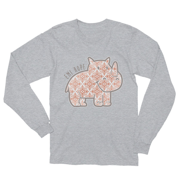 Rose Gold Emi Long Sleeve T-Shirt