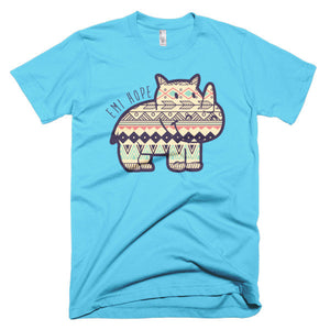Dark Blue Aztec Emi Short sleeve t-shirt