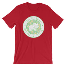 Load image into Gallery viewer, Lime Mosaic Round Short Sleeve T-Shirt