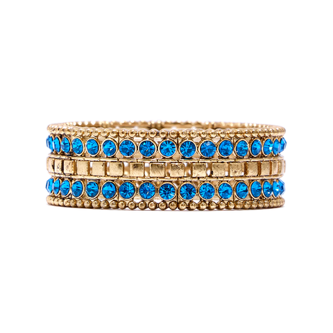 Priya Statement Stretch Bracelet