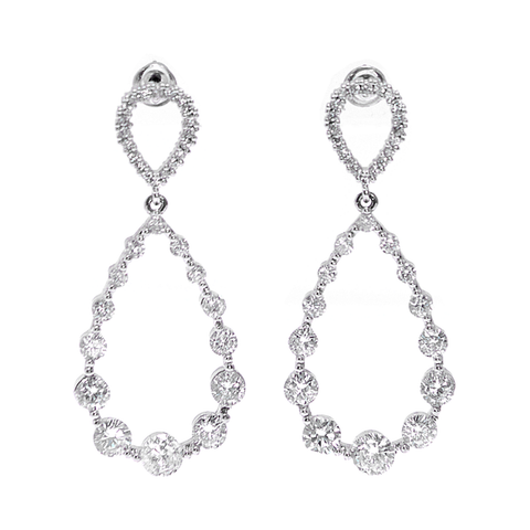 Hannah Dangle Elegant Statement Earrings