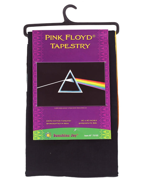 Roll over image to zoom in      Sunshine Joy Pink Floyd Tapestry The Dark Side of the Moon Classic Black Wall Art 60x90 Inches