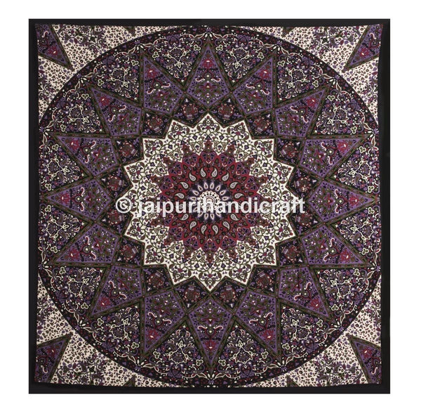 Trendyystuff Large Hippie Tapestry, Hippy Mandala Bohemian Tapestries, Indian Dorm Decor, Wall Hanging Ethnic Urban Tapestry