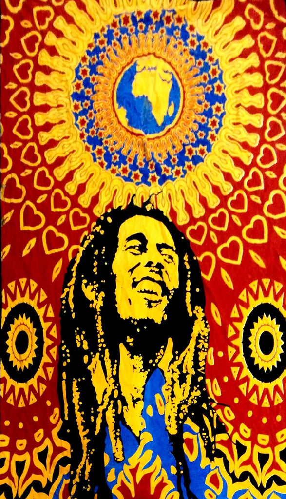 GSM DISTRIBUTION Bob Marley Tapestry
