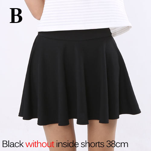 Summer Short Skirt  for Women 2016  All Fit Tutu School Skirt  White  Back Color Women Clothing Short Skirts Faldas Ball Gown