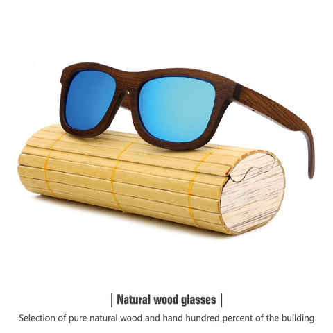 2015 New Fashion Men Women Bamboo Sunglasses Wooden Retro Vintage Summer Glasses 4 colors