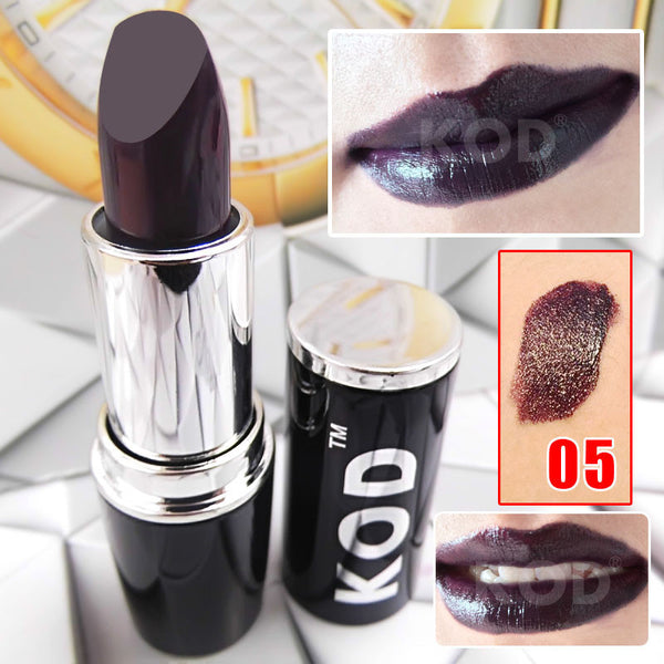 New Product KOD Brand Waterproof makeup matte lipstick 1pc Multicolor optional High Quality!!batom # D7