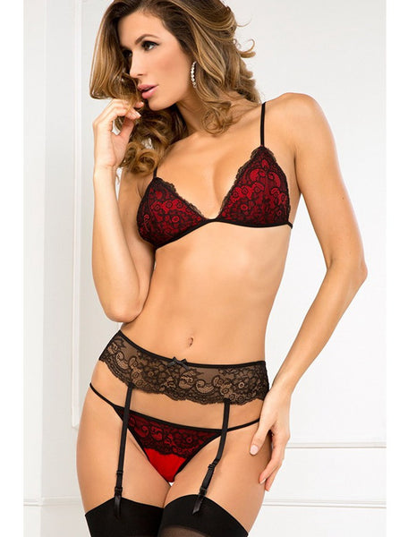 R80103 Hot sale bra with g string and garter sexy bra set new arrival lace sexy lingerie set women intimates push up bra set