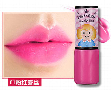 Korea Eyeberry Brand Waterproof makeup Lip Glaze Lip lasting moisturizer lip gloss nude color liquid lipstick batom