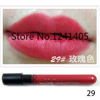 1pcs, Amazing 20 Colors Waterproof Liquid Makeup Lip Stick Lip Pencil Matte Lipstick Lip Gloss Pen Drop #MN36