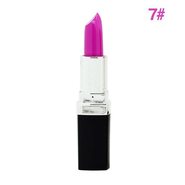 High Quality 12 Colors Brand Lipsticks 3G Makeup Long-lasting Matte Lip Stick Purple Pink Red Vampire Professional Party Batom