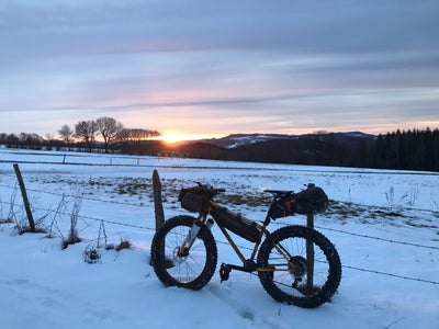 Fat bikepacking dans le Jura