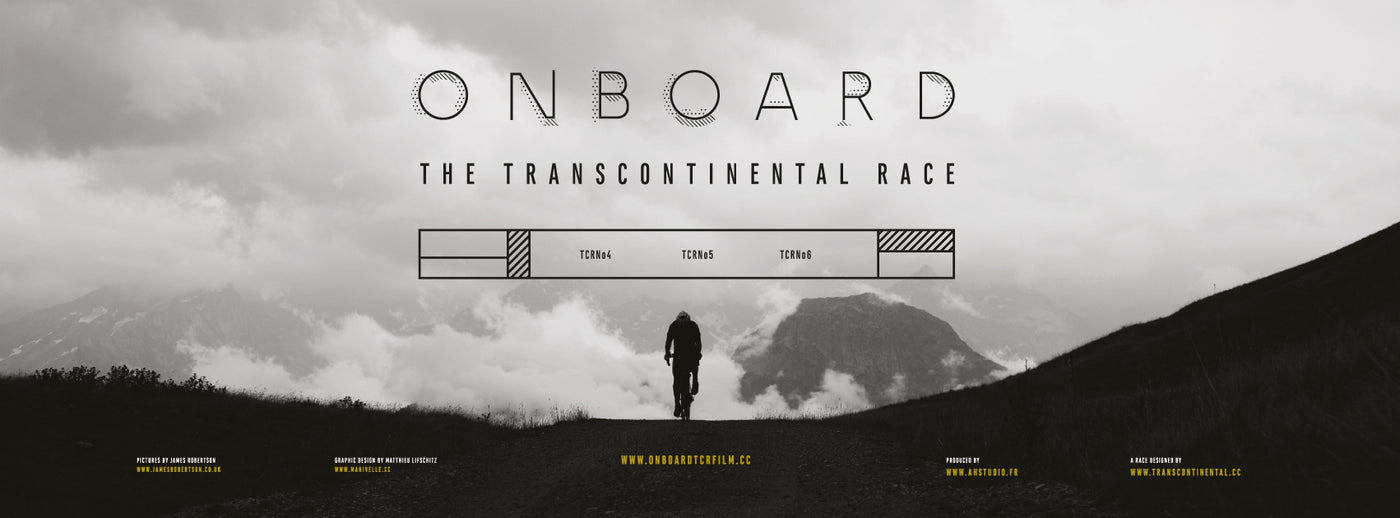 Onboard the Transcontinental Race