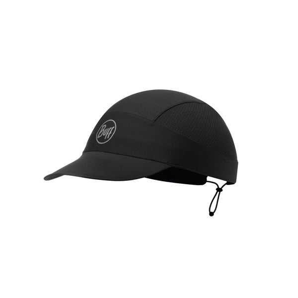 Run Cap R-Solid Black
