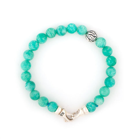 Amazonite Tiger Animali Bracelet