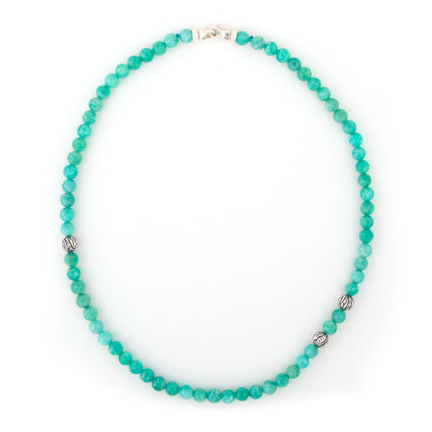 Amazonite Tiger Animali Necklace