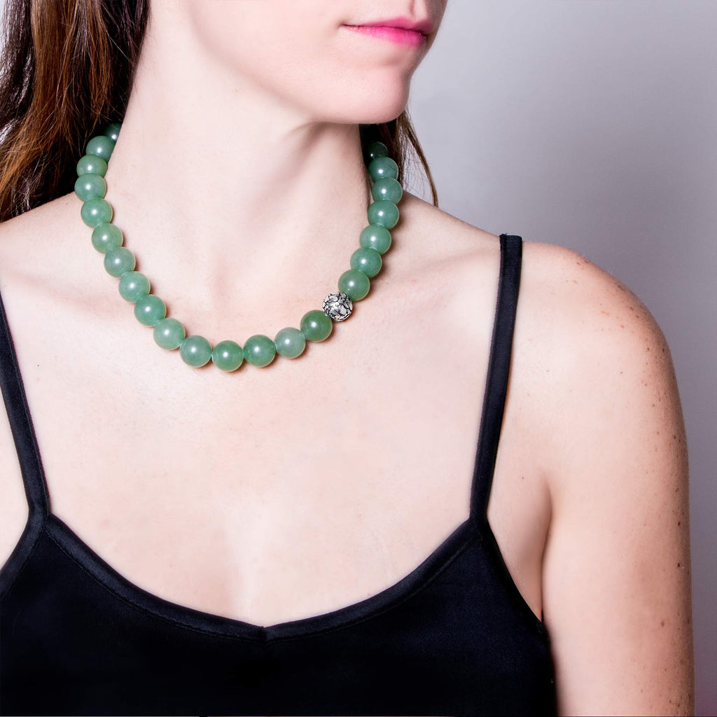 Aventurine Tortoise Animali Necklace