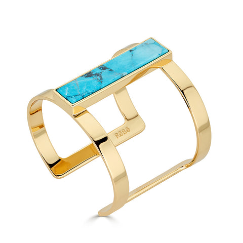 Turquoise T-Bar Cuff