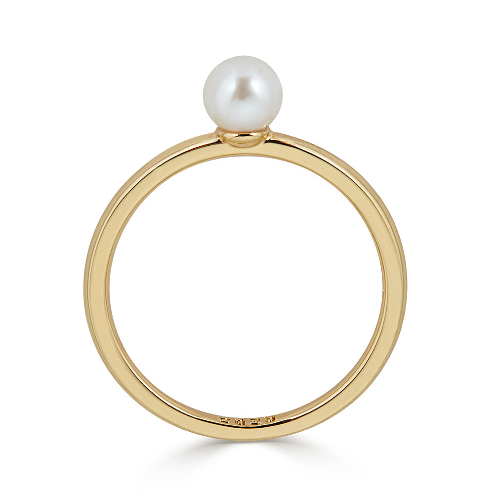 Simple Pearl Ring