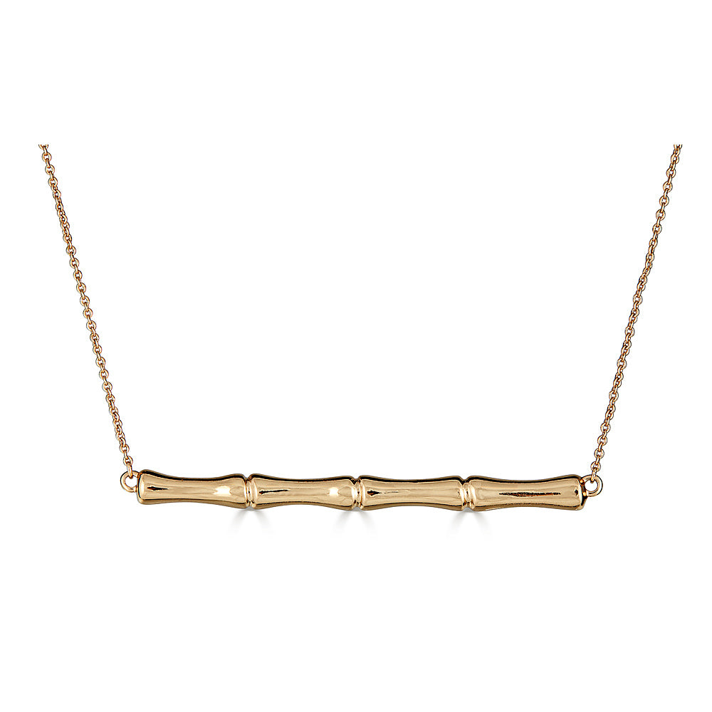 Bamboo Bar Necklace