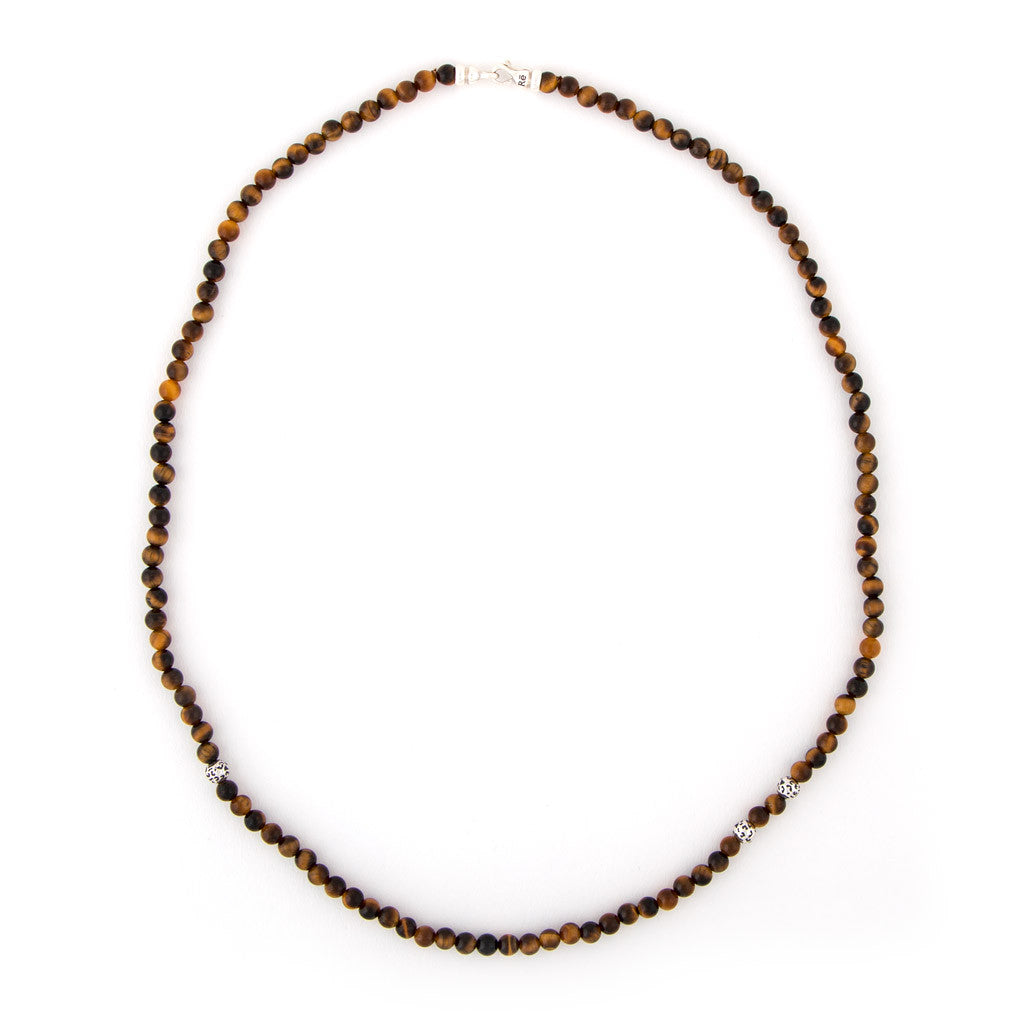 Tiger's Eye Leopard Animali Necklace