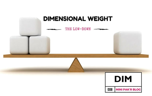 Dimensional Weight: What You Need to Know About Volumetric Pricing