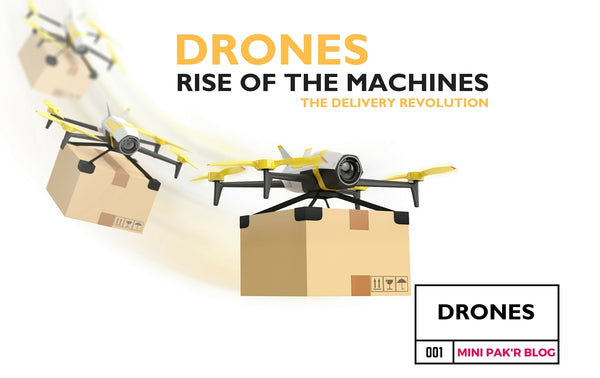 Rise of the Machines: The Revolution of Drone Delivery Services