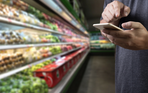Produce that Produces: The Effect of Digital Marketing on Grocery