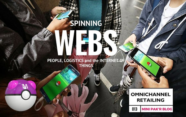 Spinning Webs: People, Logistics, and the Internet of Things