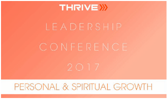 2017 Thrive Leadership Conference Personal & Spiritual Growth Download