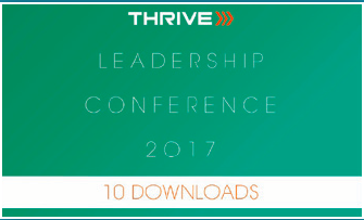 2017 Thrive Leadership Conference Ten Downloads of Your Choice