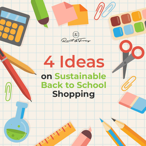 4 Ideas on Sustainable Back to School Shopping