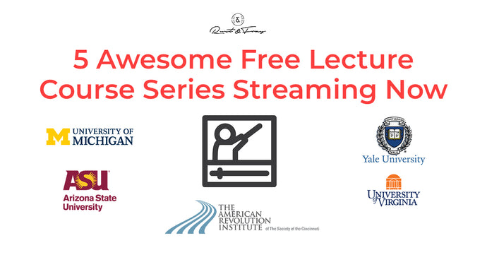 5 Awesome Free Lecture Course Series Streaming Now