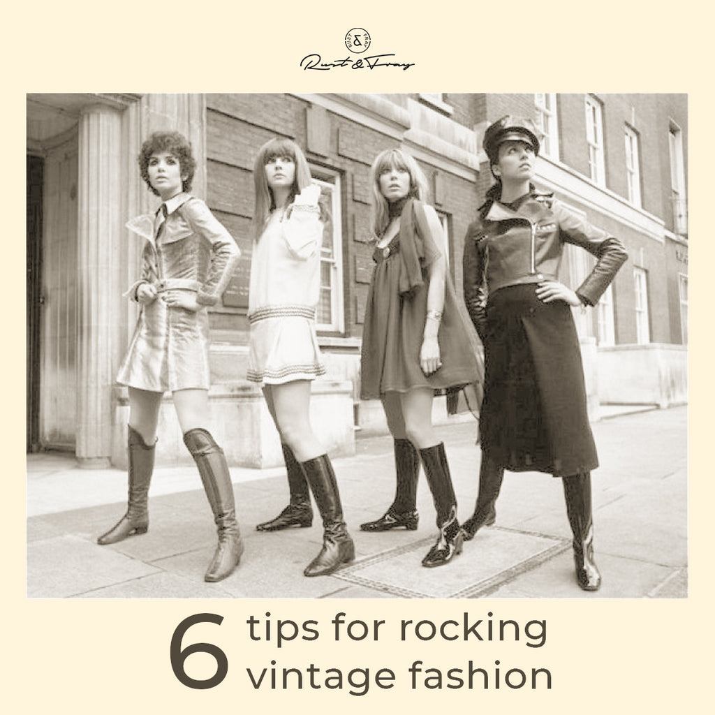 6 Tips for Rocking Vintage Fashion