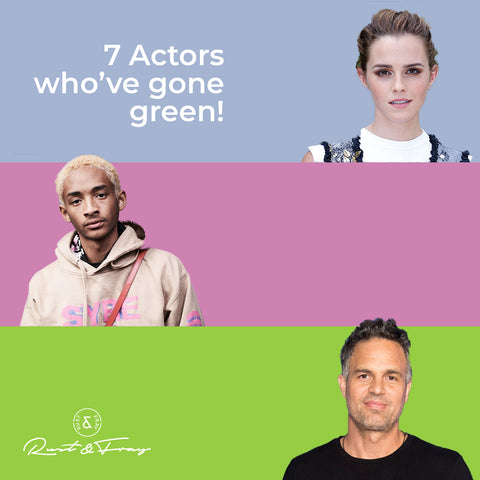 7 Actors Who've Gone Green