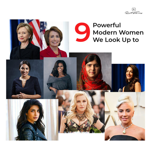 9 Powerful Modern Women We Look Up To