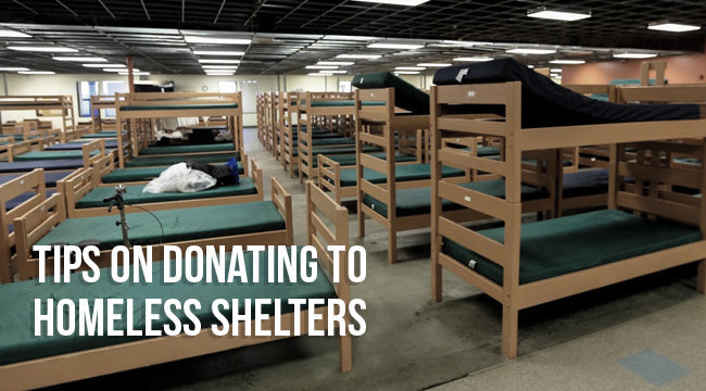 Tips on Donating to Homeless Shelters