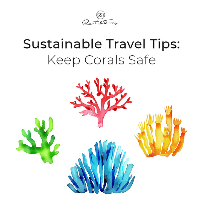 Sustainable Travel Tips: Keep Corals Safe
