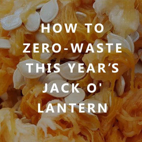 How to Zero-Waste this Year's Jack O'Lantern