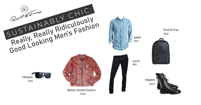 Sustainably Chic: Really, Really Ridiculously Good Looking Men's Fashion
