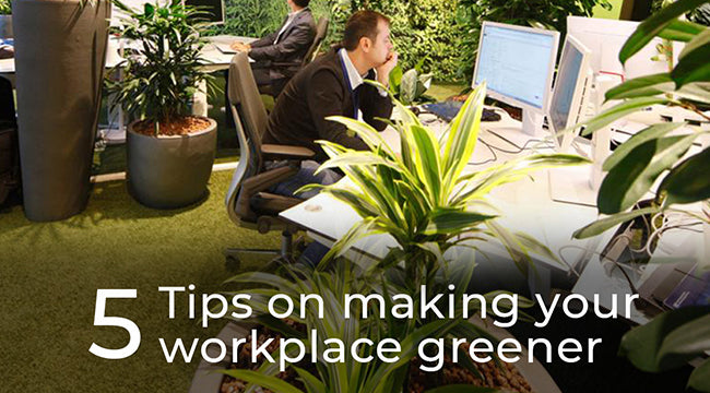 5 Easy Tips on Making your Workday Routine Greener