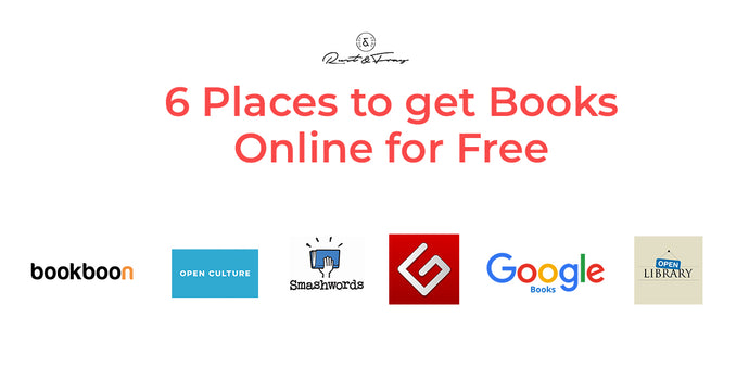 6 Places to get Books Online for Free